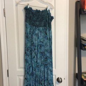 14/16 Lane Bryant maxi dress